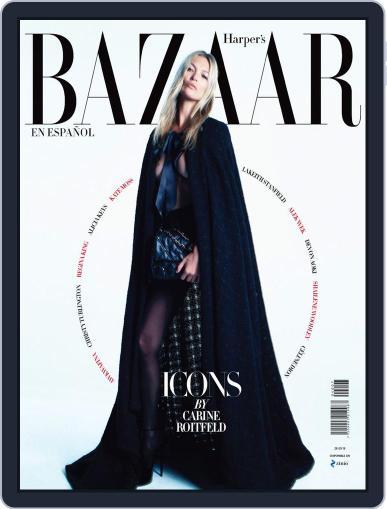 Harper's Bazaar México September 1st, 2019 Digital Back Issue Cover