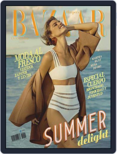 Harper's Bazaar México June 1st, 2019 Digital Back Issue Cover