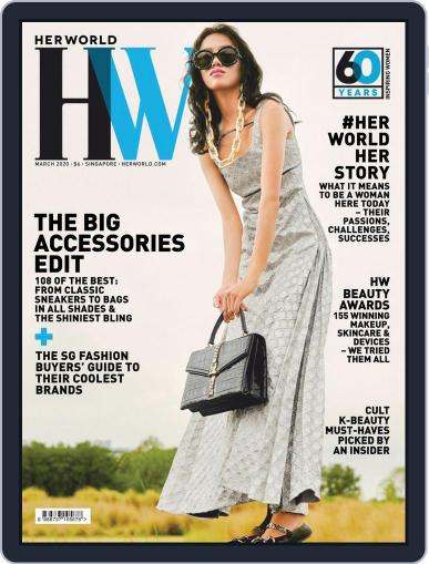 Her World Singapore (Digital) March 1st, 2020 Issue Cover