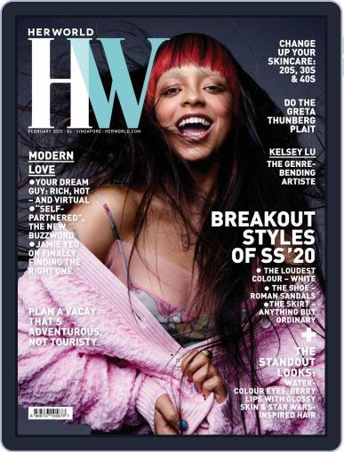 Her World Singapore February 1st, 2020 Digital Back Issue Cover