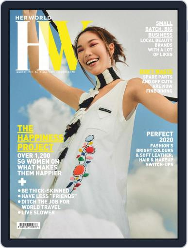 Her World Singapore (Digital) January 1st, 2020 Issue Cover