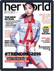 Her World Singapore (Digital) Subscription December 18th, 2015 Issue