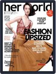 Her World Singapore (Digital) Subscription September 1st, 2015 Issue