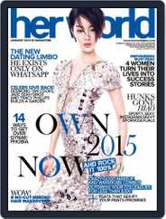 Her World Singapore (Digital) Subscription December 18th, 2014 Issue