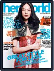 Her World Singapore (Digital) Subscription May 14th, 2013 Issue