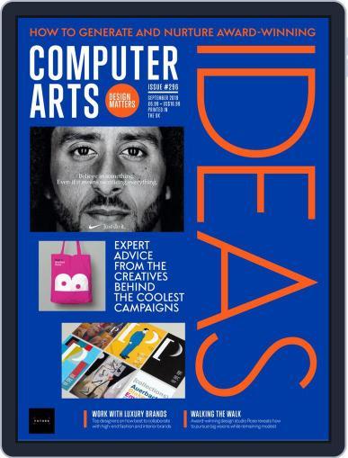 Computer Arts September 1st, 2019 Digital Back Issue Cover