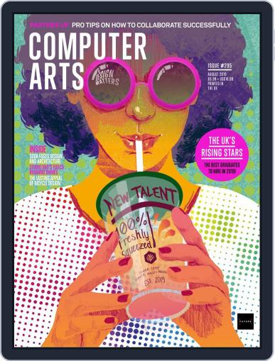 Computer Arts August 1st, 2019 Digital Back Issue Cover