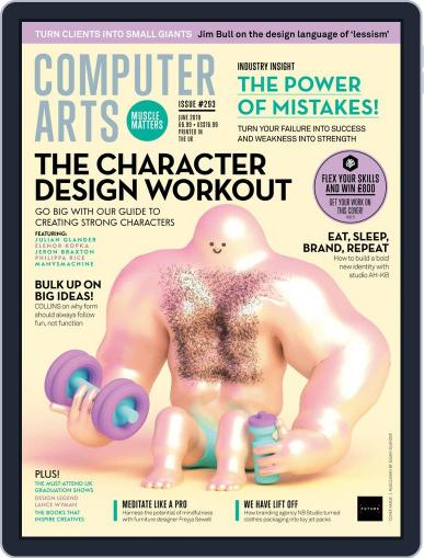 Computer Arts June 1st, 2019 Digital Back Issue Cover