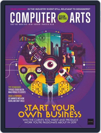 Computer Arts March 1st, 2019 Digital Back Issue Cover
