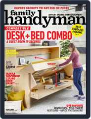 Family Handyman (Digital) Subscription April 1st, 2020 Issue