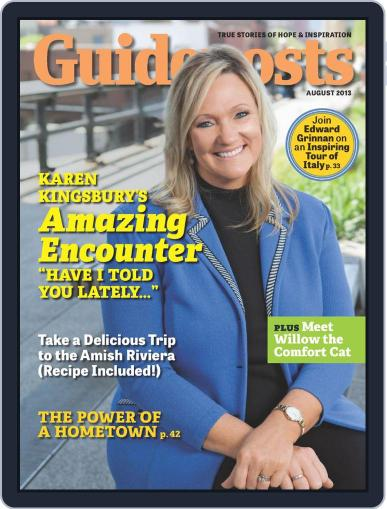 Guideposts July 27th, 2013 Digital Back Issue Cover