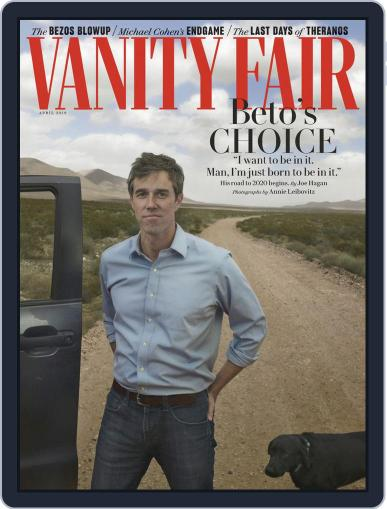 Vanity Fair (Digital) April 1st, 2019 Issue Cover