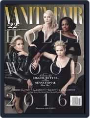 Vanity Fair (Digital) Subscription January 1st, 2016 Issue