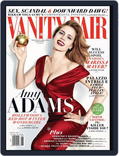 Vanity Fair (Digital) January 1st, 2014 Issue Cover