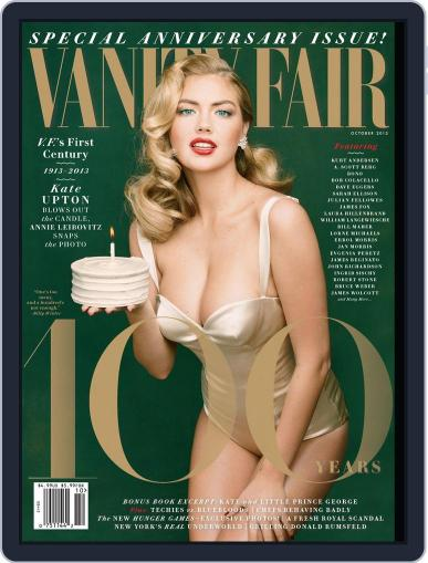 Vanity Fair (Digital) October 1st, 2013 Issue Cover