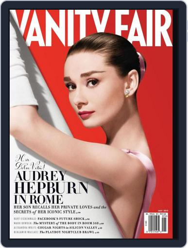 Vanity Fair (Digital) April 19th, 2013 Issue Cover