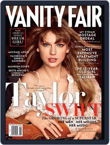 Vanity Fair (Digital) March 19th, 2013 Issue Cover