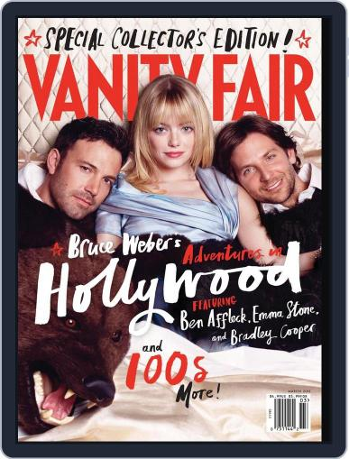 Vanity Fair (Digital) February 19th, 2013 Issue Cover
