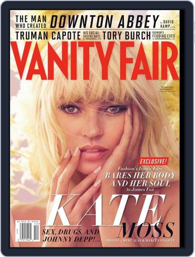 Vanity Fair (Digital) January 25th, 2013 Issue Cover