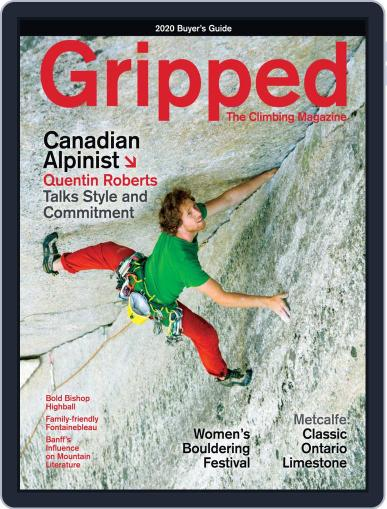 Gripped: The Climbing (Digital) April 1st, 2020 Issue Cover