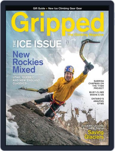 Gripped: The Climbing (Digital) December 1st, 2019 Issue Cover