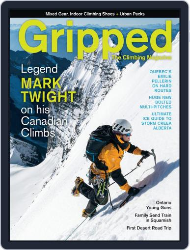 Gripped: The Climbing (Digital) October 1st, 2019 Issue Cover