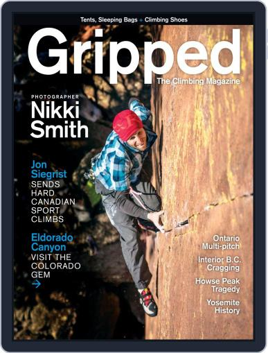 Gripped: The Climbing (Digital) June 1st, 2019 Issue Cover