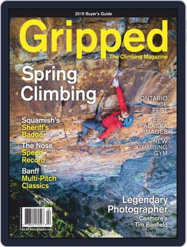 Gripped: The Climbing (Digital) April 1st, 2019 Issue Cover