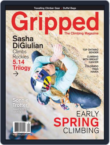 Gripped: The Climbing (Digital) March 1st, 2019 Issue Cover