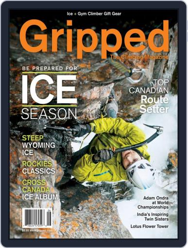 Gripped: The Climbing (Digital) December 1st, 2018 Issue Cover