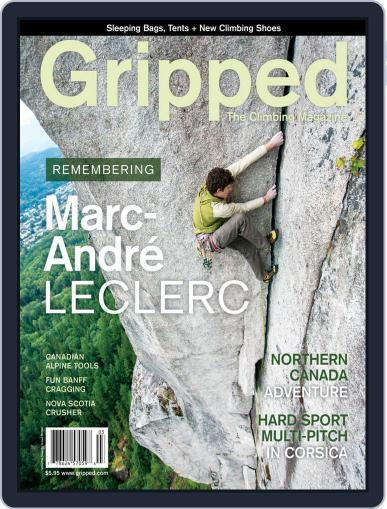 Gripped: The Climbing (Digital) June 1st, 2018 Issue Cover