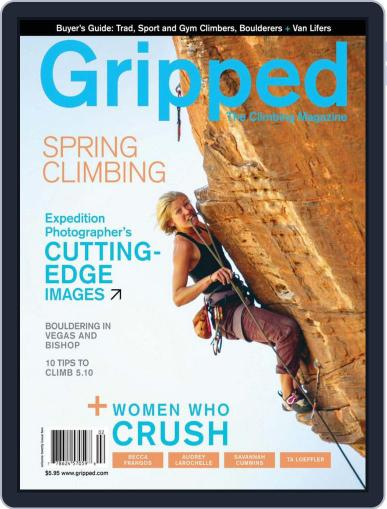 Gripped: The Climbing (Digital) March 31st, 2018 Issue Cover