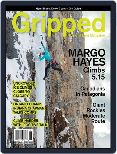 Gripped: The Climbing (Digital) December 1st, 2017 Issue Cover