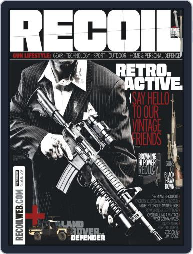 Recoil (Digital) September 28th, 2018 Issue Cover