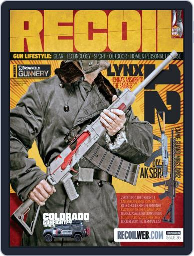 Recoil (Digital) May 1st, 2018 Issue Cover