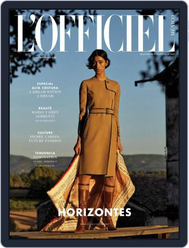 L'Officiel Mexico (Digital) November 1st, 2019 Issue Cover
