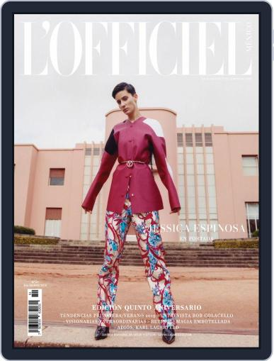 L'Officiel Mexico (Digital) March 1st, 2019 Issue Cover