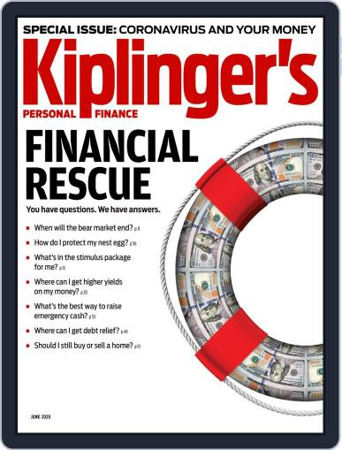 Kiplinger's Personal Finance June 1st, 2020 Digital Back Issue Cover