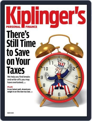 Kiplinger's Personal Finance (Digital) March 1st, 2020 Issue Cover