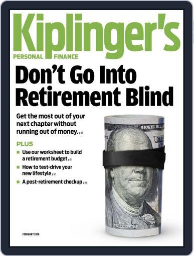 Kiplinger's Personal Finance February 1st, 2020 Digital Back Issue Cover