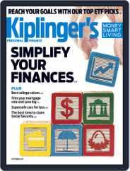 Kiplinger's Personal Finance (Digital) Subscription September 1st, 2019 Issue