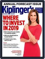 Kiplinger's Personal Finance (Digital) Subscription January 1st, 2019 Issue