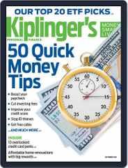 Kiplinger's Personal Finance (Digital) Subscription September 1st, 2018 Issue