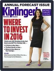 Kiplinger's Personal Finance (Digital) Subscription January 1st, 2016 Issue