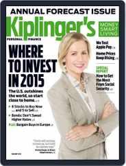 Kiplinger's Personal Finance (Digital) Subscription November 18th, 2014 Issue