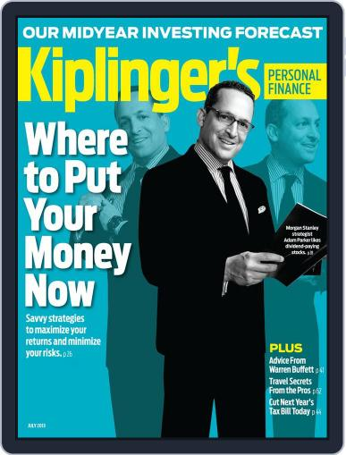 Kiplinger's Personal Finance (Digital) May 22nd, 2013 Issue Cover