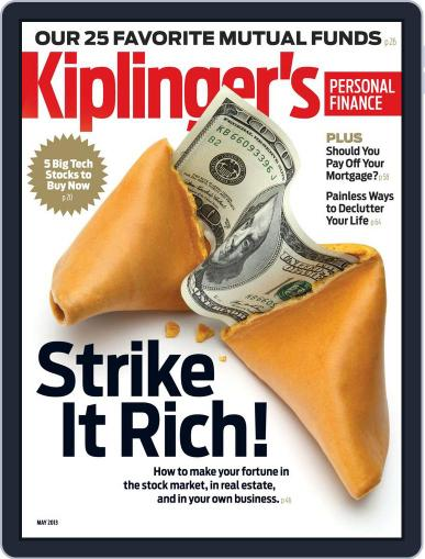 Kiplinger's Personal Finance (Digital) March 27th, 2013 Issue Cover
