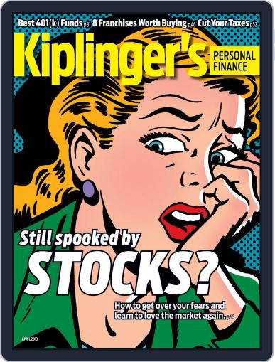 Kiplinger's Personal Finance (Digital) February 20th, 2013 Issue Cover
