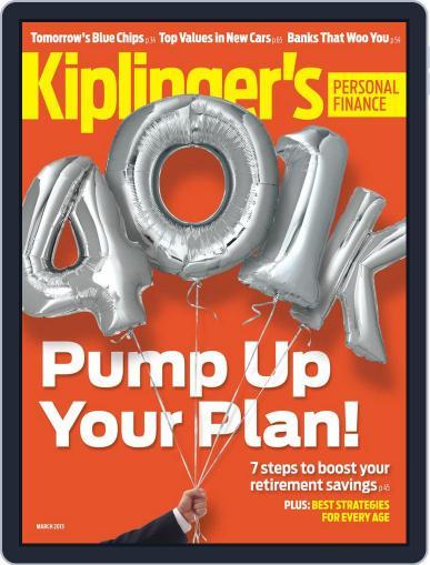 Kiplinger's Personal Finance (Digital) January 23rd, 2013 Issue Cover