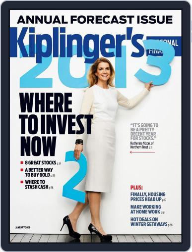 Kiplinger's Personal Finance (Digital) November 21st, 2012 Issue Cover
